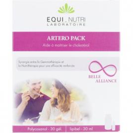 Equi - Nutri Artero Pack 60 gélules végétales + Flacon 30 ml Equi - Nutri Cholestérol Onaturel.fr