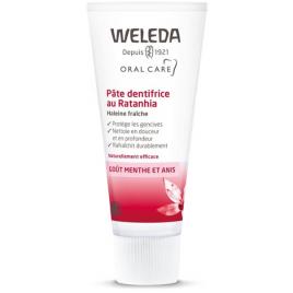 Weleda Pâte dentifrice au Ratanhia 75ml Weleda Hygiène Onaturel.fr