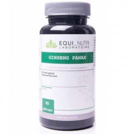 Equi - Nutri Ginseng Panax 90 gélules 300mg Equi - Nutri Forme et Vitalité Onaturel.fr