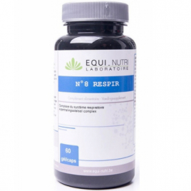 Equi - Nutri Respir Complexe N° 8 60 gélules végétales