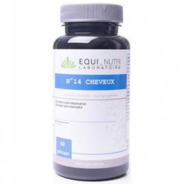 Equi - Nutri Cheveux Complexe N° 14  60 gélules végétales Equi - Nutri Compléments Alimentaires Bio Onaturel.fr