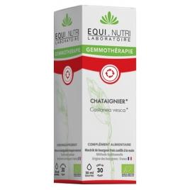 Equi - Nutri Châtaignier bio Flacon compte gouttes 30ml Equi - Nutri Circulation Onaturel.fr