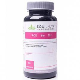 Equi - Nutri ACE + Sélénium + Zinc 60 gélules végétales Equi - Nutri Anti-âge / Beauté Onaturel.fr