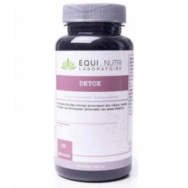 Equi - Nutri Detox  Métaux Lourds 60 gélules végétales Equi - Nutri Forme et Vitalité Onaturel.fr