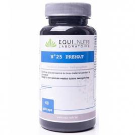 Equi - Nutri Prenat N° 25 60 gélules végétales Equi - Nutri Femme enceinte / Allaitement Onaturel.fr