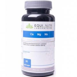 Equi - Nutri Calcium Magnesium Manganèse 60 gélules végétales Equi - Nutri Muscles et Articulations Onaturel.fr