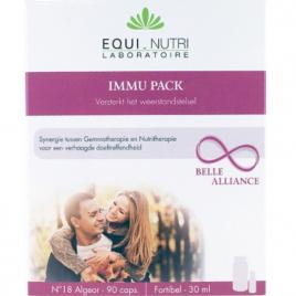 Equi - Nutri Immu pack 60 gélules + Flacon 30ml Equi - Nutri Immunité Onaturel.fr