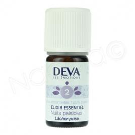 Deva  Elixir Essentiel  Nuits Paisibles N° 2  5 Ml Deva Laboratoire Elixirs floraux - Dr Bach Onaturel.fr