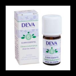 Deva  Elixir Essentiel  Désaccoutumance N° 6  5 Ml Deva Laboratoire Elixirs floraux - Dr Bach Onaturel.fr