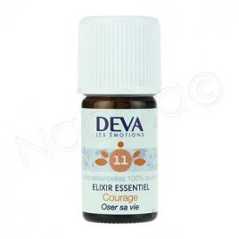 Deva  Elixir Essentiel  Courage N° 11  5 Ml Deva Laboratoire Elixirs floraux - Dr Bach Onaturel.fr