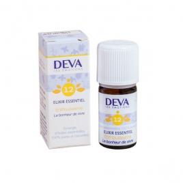 Deva  Elixir Essentiel  Enthousiasme N° 12  5 Ml Deva Laboratoire Elixirs floraux - Dr Bach Onaturel.fr