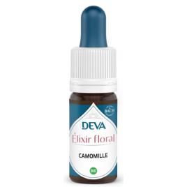 Deva  Elixir Floral Deva  Camomille  10 Ml Deva Laboratoire Elixirs floraux - Dr Bach Onaturel.fr
