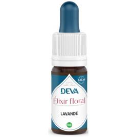 Deva  Elixir Floral Deva  Lavande  10 Ml Deva Laboratoire Elixirs floraux - Dr Bach Onaturel.fr