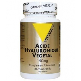 Vit'all + Acide Hyaluronique Végétal 30 comprimés 150mg Vit'all + Accueil Onaturel.fr