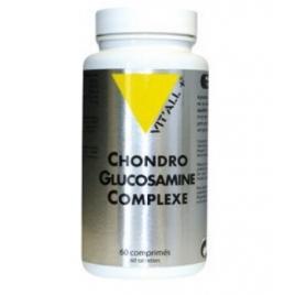 Vit'all + Chondro Glucosamine Complexe 60 comprimés Vit'all + Accueil Onaturel.fr