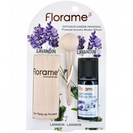 Florame Diffuseur d'arôme provençal+ HE lavandin bio 10ml Florame Diffuseurs / Doseurs Onaturel.fr