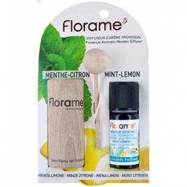 Florame Diffuseur d'arôme provençal+ HE Menthe Citron bio 10ml