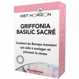 Diet Horizon Griffonia Basilic sacré 60 comprimés