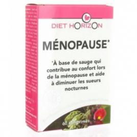 Diet Horizon Ménopause 60 comprimés Diet Horizon Compléments Alimentaires Bio Onaturel.fr