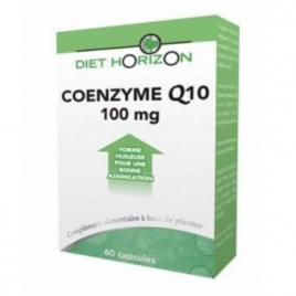 Diet Horizon Coenzyme Q 10 60 capsules Diet Horizon Forme et Vitalité Onaturel.fr