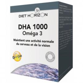 DHA 1000 Oméga 3 60 capsules Onaturel acide docosahexaénoïque