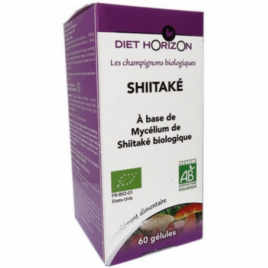 Diet Horizon Champignons Biologiques SHIITAKE 60 gélules