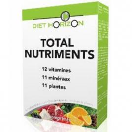 Total Nutriments 30 comprimés Diet Horizon Diet Horizon Immunité Onaturel.fr