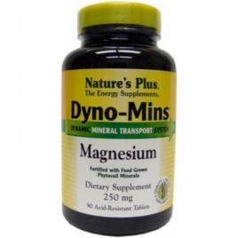 Nature's Plus Dyno Mins Magnésium 90 Comprimés Nature's Plus