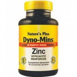 Nature's Plus Dyno Mins Zinc 60 Comprimés Nature's Plus