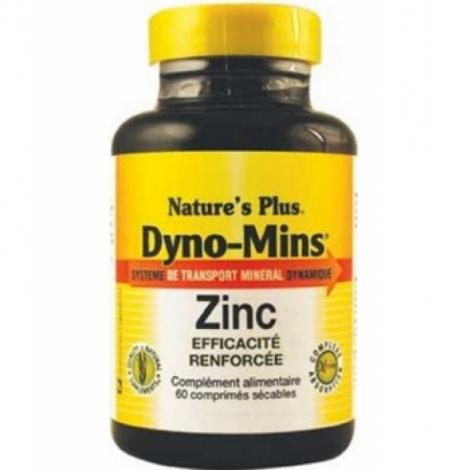 Nature's Plus Dyno Mins Zinc 60 Comprimés
