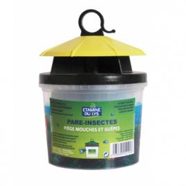 Etamine du Lys Piège à mouches écologique à base de poudre de poisson Etamine du Lys Anti-mites / Anti-moustiques / Anti-inse...