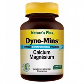 Nature's Plus Dyno Mins Calcium Magnésium 90 comprimés