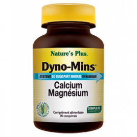 Nature's Plus Dyno Mins Calcium Magnésium 90 comprimés Nature's Plus
