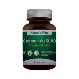 Commando 3000  60 comprimés Nature's Plus Nature's Plus