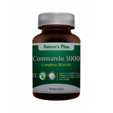 Commando 3000   60 comprimés Nature's Plus