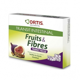 Ortis  Fruits et Fibres Bio  Double Action  12 Cubes Ortis Accueil Onaturel.fr