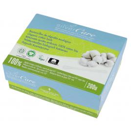 Silvercare 200 bâtonnets ouatés embouts 100% coton bio