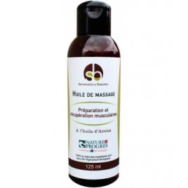 Savonnerie De Beaulieu Huile de massage Préparation et récupération musculaires 125 ml
