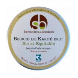 Savonnerie De Beaulieu Beurre de Karité Jojoba 100ml Savonnerie De Beaulieu Accueil Onaturel.fr