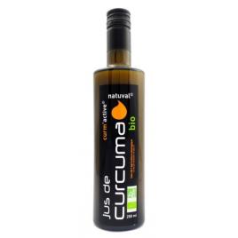 Natuval Jus de curcuma bio curm active 250 ml Natuval