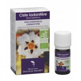 Dr Valnet Huile essentielle Ciste Ladanifère 5ml Dr Valnet Synergie huiles essentielles Bio Onaturel.fr