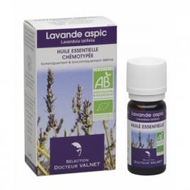Dr Valnet Huile essentielle Lavande aspic 10ml Dr Valnet Synergie huiles essentielles Bio Onaturel.fr