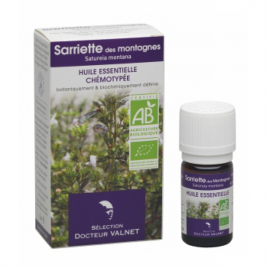 Dr Valnet Huile essentielle Sarriette des montagnes 5ml Dr Valnet Synergie huiles essentielles Bio Onaturel.fr