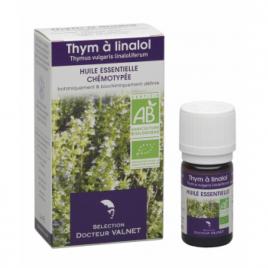 Dr Valnet Huile essentielle Thym Linalol 5ml Dr Valnet Synergie huiles essentielles Bio Onaturel.fr