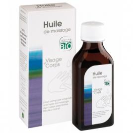 Dr Valnet Huile de massage visage et corps 100ml Dr Valnet Huiles végétales Bio Onaturel.fr