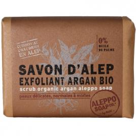 Tade Savon d'Alep Exfoliant Argan Bio 100g