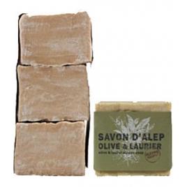 Tade Savon d'Alep Olive et Laurier Lot de 3 savons Aleppo Soap