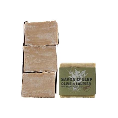 Tade Savon d'Alep Olive et Laurier Lot de 3 savons Aleppo Soap Tade Hygiène & Beauté Bio Onaturel.fr