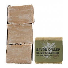 Tade Savon d'Alep 12% Laurier Aleppo Soap Lot 3 savons Tade Accueil Onaturel.fr