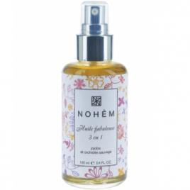 Nohèm Huile Fabuleuse 3 en 1 rééquilibrante Jojoba et Orchidée Sauvage 100 ml Nohèm Accueil Onaturel.fr
